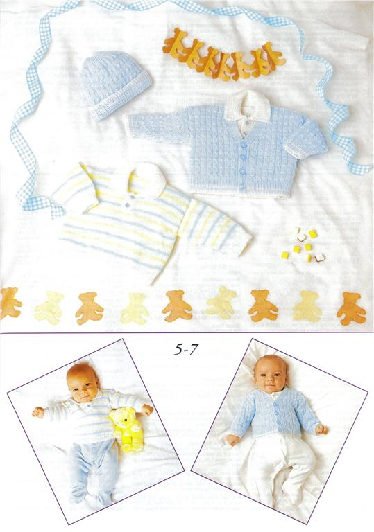 Patons A New Baby Knit Amp Crochet Pattern Book 370